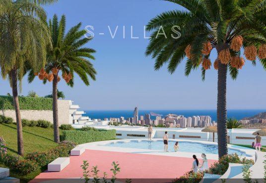 Camporrosso Village zwembad en zeezicht