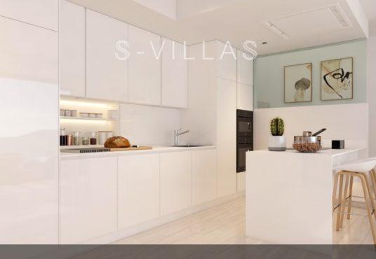Villa White Finestrat keuken