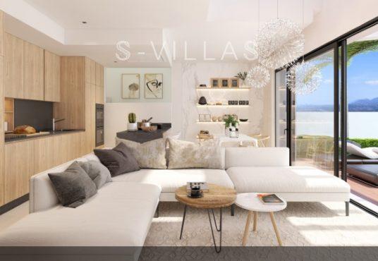Villa White Finestrat woonkamer