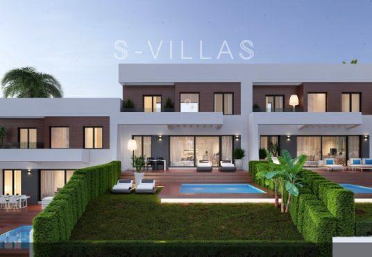 Villa White Finestrat zwembad en gevel