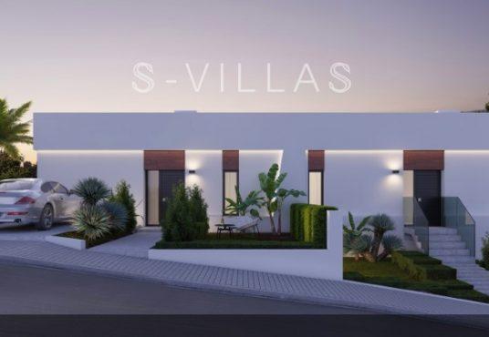 Villa White Finestrat voorgevel