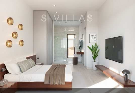 Campana Garden Villa Green slaapkamer