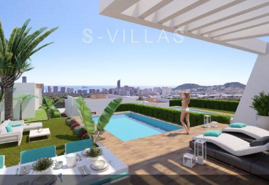 Villa White Finestrat zwembad