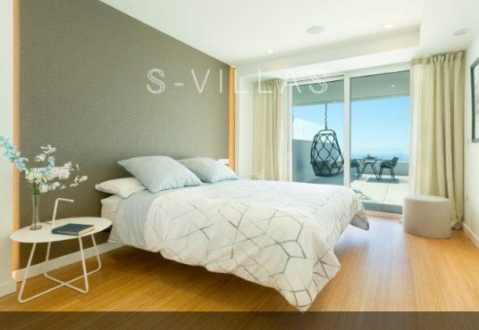 Blue Infinity bedroom