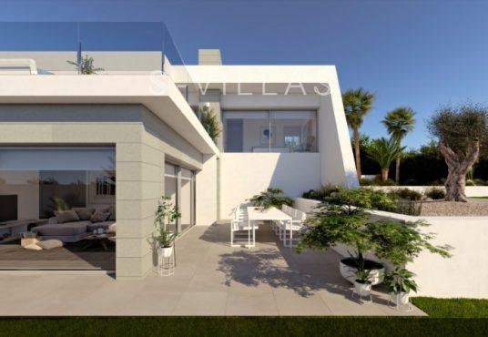 Nieuwbouwvilla Cumbre del Sol terras