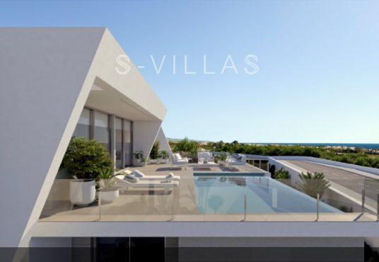 Nieuwbouwvilla Cumbre del Sol zwembad