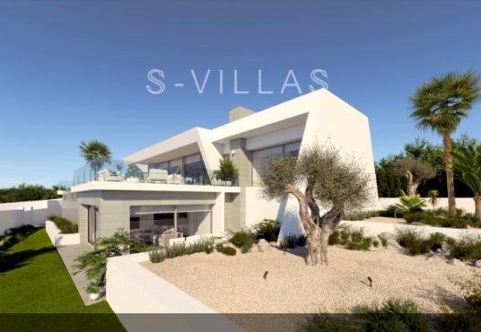 Nieuwbouwvilla Cumbre del Sol tuin