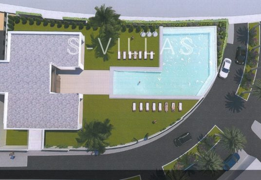 Polop Hills Villa Augusta Social Club bovenaanzicht