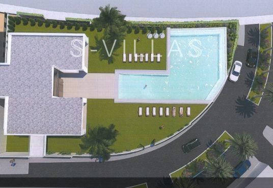 Polop Hills Villa Marina Social Club bovenaanzicht