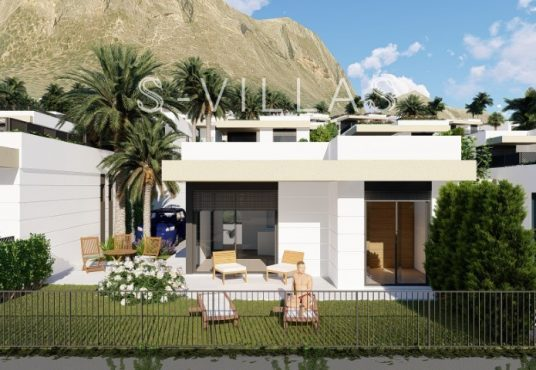 Polop Hills Villa Marina tuin