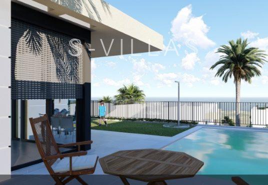Polop Hills Villa Marina zeezicht