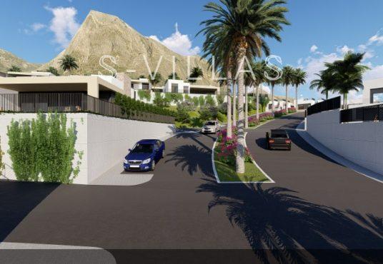 Polop Hills Villa Regina urbanisatie straat