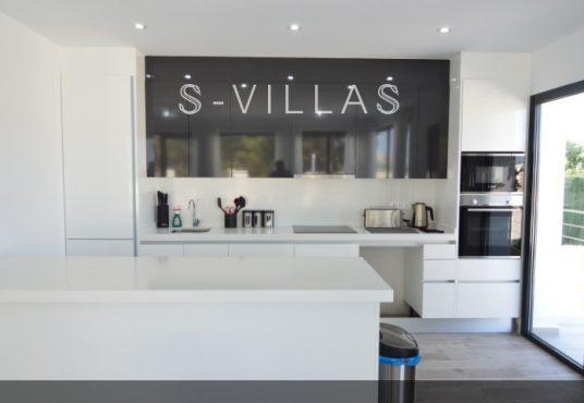 Villa Arena kitchen
