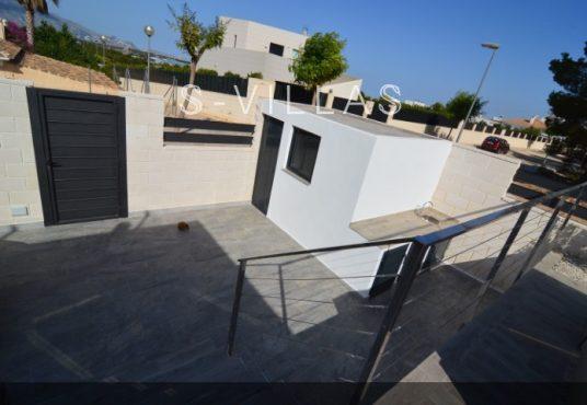 Villa Arena pedestrian entrance