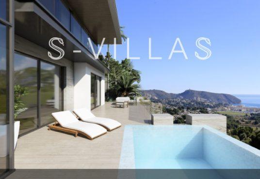 Nieuwe villa met zeezicht Moraira 1