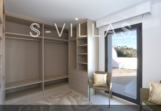 Villa in Ibiza stijl in Denia dressing