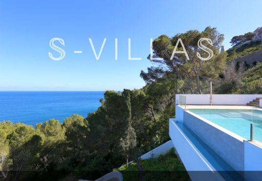 Villa in Ibiza stijl in Denia infinity pool
