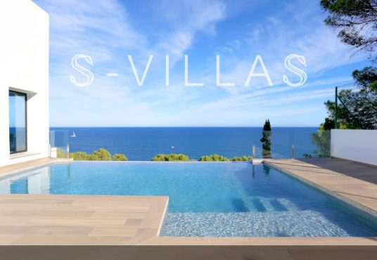 Villa in Ibiza stijl in Denia infinity pool en uitzicht