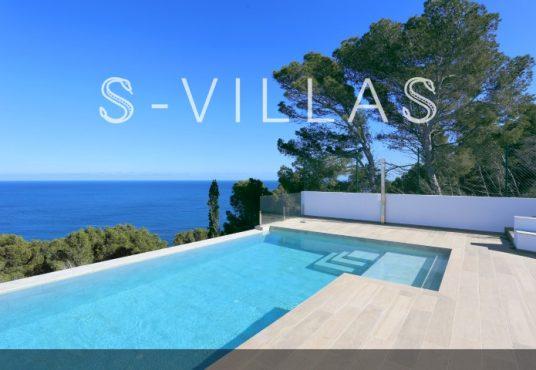 Villa in Ibiza stijl in Denia infinity pool en uitzicht b