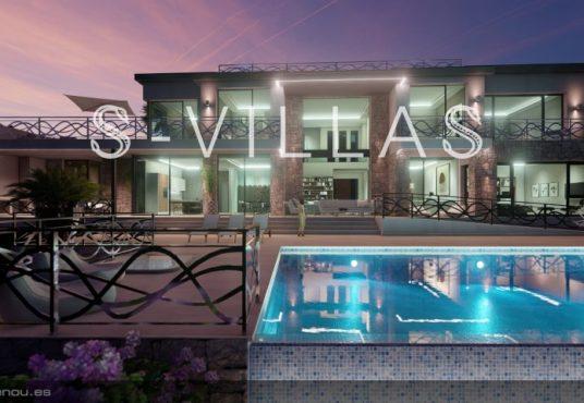 First line villa Calpe 1