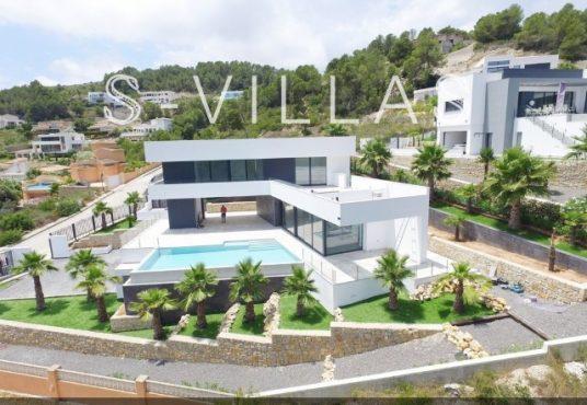 Javea Tossalet Villa te koop luchtfoto a