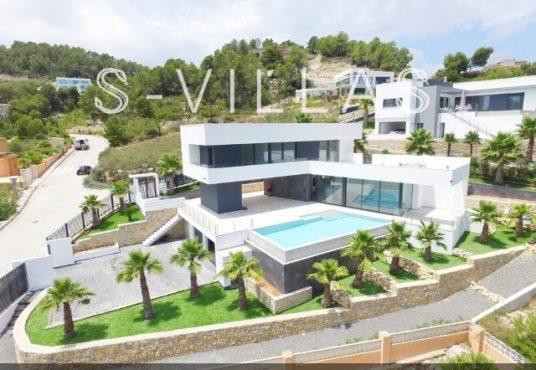 Javea Tossalet Villa te koop luchtfoto c