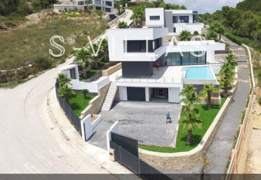 Javea Tossalet Villa te koop luchtfoto d