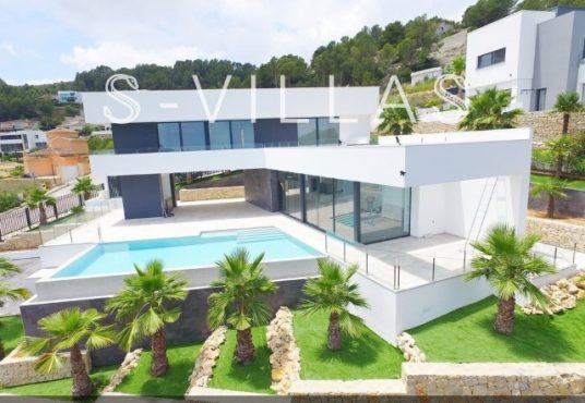 Javea Tossalet Villa te koop luchtfoto e