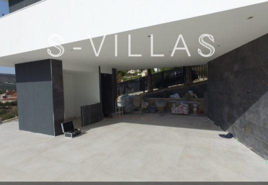 Javea Tossalet Villa te koop overdekt terras