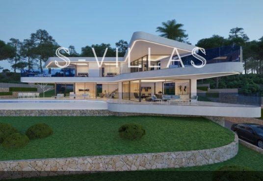 Moderne villa Javea 1