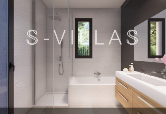 La Fustera villa te koop badkamer