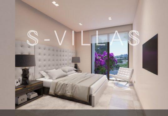 La Fustera villa te koop slaapkamer
