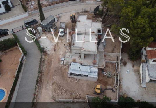 La Fustera villa te koop werf drone b