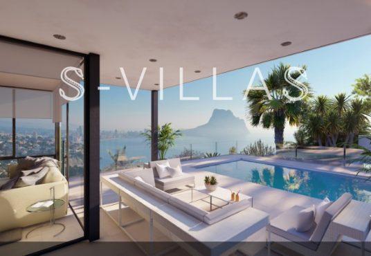 Maryvilla Calpe te koop - Villa met zeezicht 1