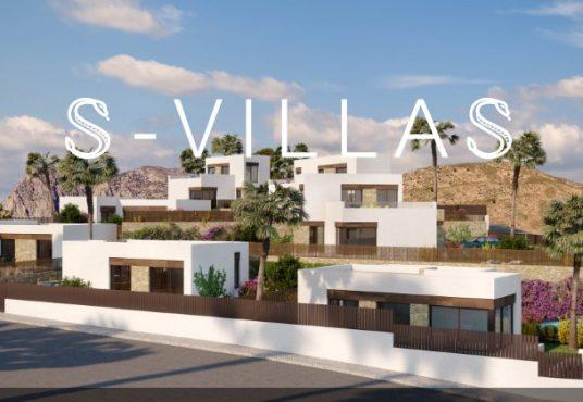 Nieuwbouwvilla's in Balcón de Finestrat aanzicht b